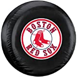 Boston Red Sox MLB Black Tire Cover