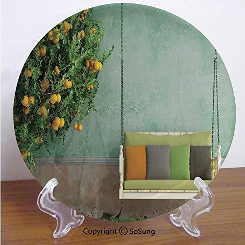 Tree Lemon Plate Salad - Country Home Decor 6