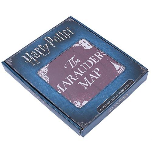 Harry Potter Die Karte des Rumtreibers Hogwarts Herren 2tlg. Schlafanzug Pyjama