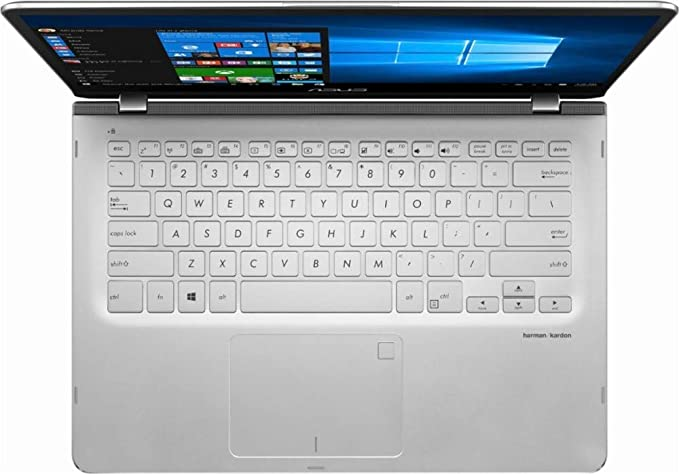 Newest ASUS 14.0-inch 2-in-1 Touchscreen FHD (1920x1080) Laptop PC, Intel i5-8250U up to 3.4GHz, 8GB DDR4 SDRAM, 1TB HDD, Fingerprint Reader, Windows ...