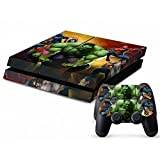 Mod Freakz Console and Controller Vinyl Skin Set - Superheroes for Playstation 4