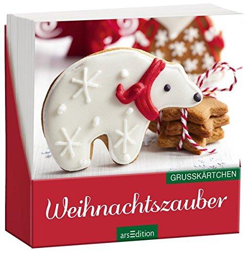 Weihnachtszauber (klassisch): Grußkärtchen