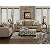 Cambridge 98514A2PC-TN 2 Piece Haverhill Living Room Set
