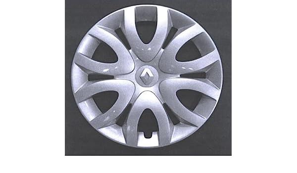 Autoforniture srl - Juego de 4 tapacubos para Renault Clio (serie IV) a partir del 2010 - Rodado 15: Amazon.es: Coche y moto