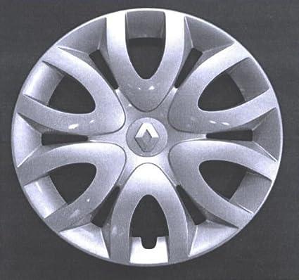 Autoforniture srl - Juego de 4 tapacubos para Renault Clio (serie IV) a partir