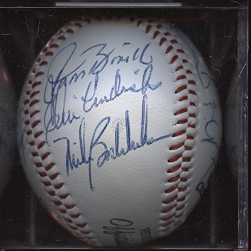 Baltimore Orioles Team Signed Baseball (1985 Baltimore Orioles Team Signed Baseball 14 Signatures PSA/DNA)