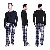 Cherokee Men's 2 Piece Pajama Set, Argyle, M