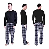 Cherokee Men's 2 Piece Pajama Set, Argyle, L