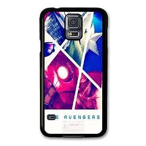 Genérica teléfono funda por Samsung Galaxy Mini S5 Negro [duro Snap-On GDLADGJGD1305] Encargo TORTUGAS NINJA tema [Solo por Samsung Galaxy Mini funda S5]