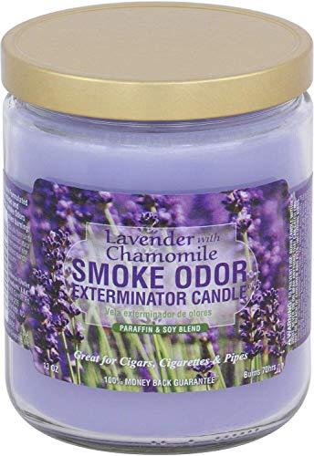 Lavender Chamomile Smoke Odor Exterminator Candle