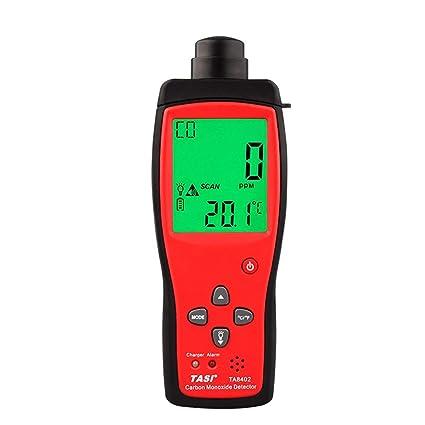 TA8402 Medidor de Monóxido de Carbono de Mano Analizador de Gas Detector de Gas de CO