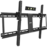 """UNHO 32-85"""" Fixed TV Wall Mount Bracket Tilt Ultra Slim TV Mount for LED LCD OLED Plasma TVs with Spirit Level Super…"""