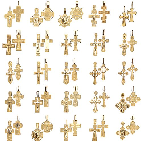 #c3_ Set of 25 pcs crosses wax patterns for lost wax casting