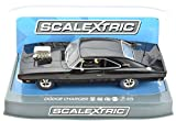 Scalextric C3936 Dodge Charger Gloss Black With