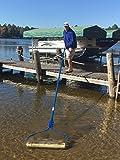 BEACHROLLER - Weeds Muck Silt GONE! Lake weed removal tool. NEW 2017 aluminum handle model