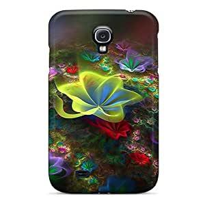 VxQ4253TxuO Anti-scratch Cases Covers Richardcustom2008 Protective 3d Flowers Cases For Galaxy S4