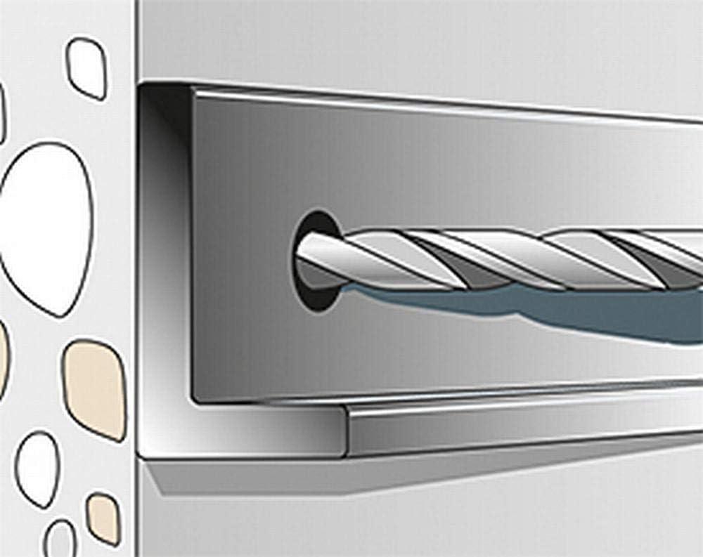 100 unidades perfiles de metal Fischer ULTRACUT FBS II 6x55 M8//19 tuber/ías en hormig/ón N/úmero de referencia 546397 Tornillo de hormig/ón para fijar rieles