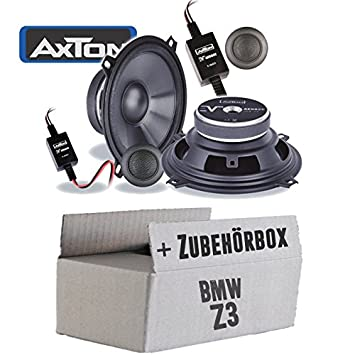 Bmw Z3 Lautsprecher Boxen Axton Ae502c 13cm 2 Wege Koax Auto