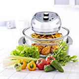 Big Boss Oil-less Air Fryer, 16 Quart, 1300W, Easy Operation with...