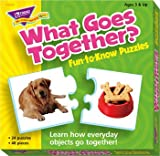 What Goes Together Puzzle, 24 2-Piece Puzzles