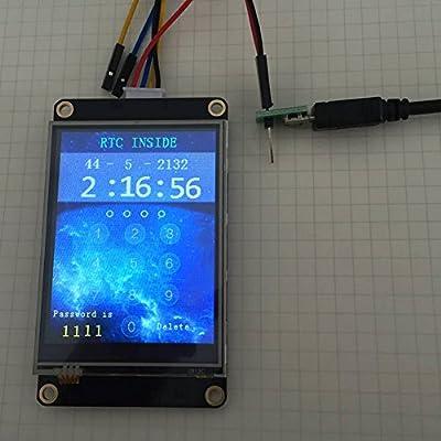 Amazon com: NX4832K035 Nextion Enhanced 3 5'' LCD Module