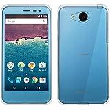 Android One 507SH/AQUOS ea 606SH ソフトケース カバー クリア TPU 透明 アンドロイドワン Y!mobile ワイモバイル シャープ SHARP アクオス イーエー