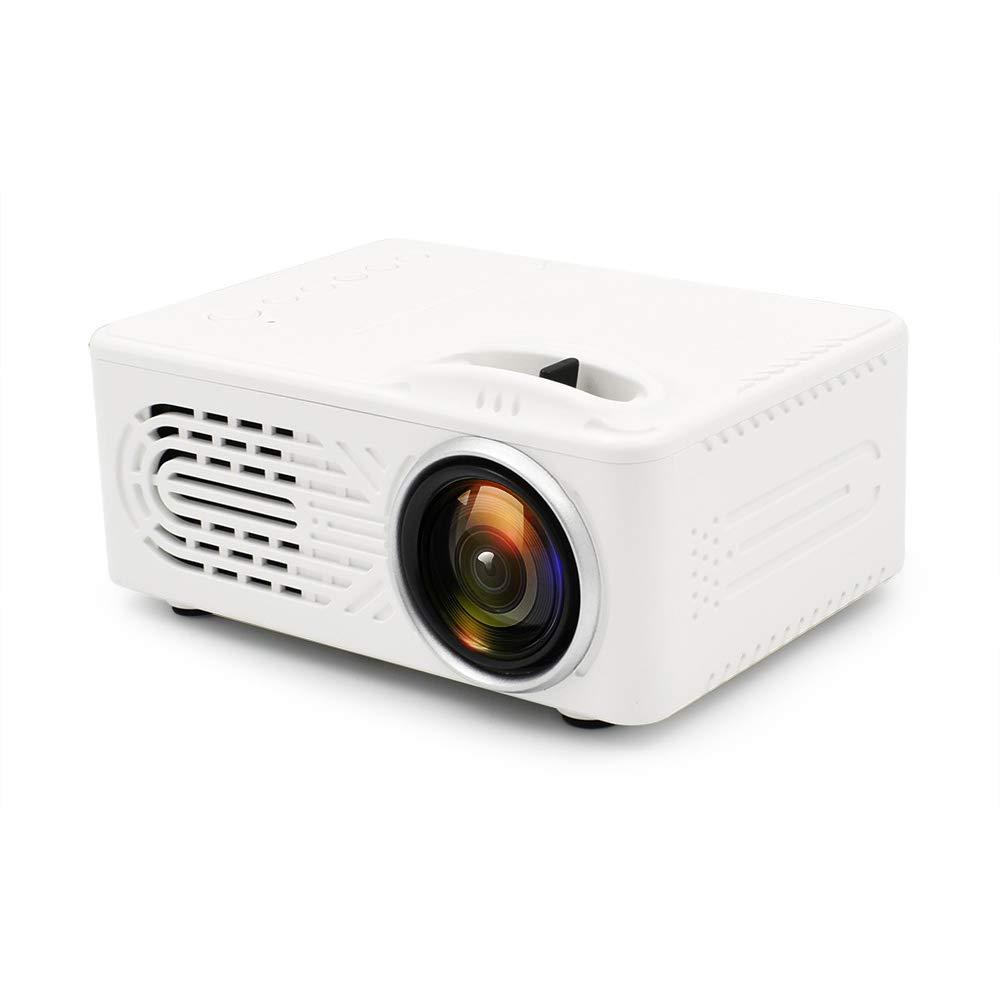 ZUKN Mini Proyector Portátil HD1080P LCD Beamer Altavoz ...