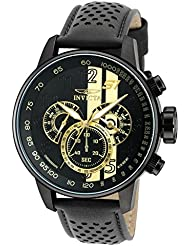 Invicta Mens 19289 S1 Rally Analog Display Japanese Quartz Black Watch