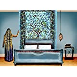 LARGE QUEEN SIZE Blue Tree of Life Indian Hippy Tapestries,bed sheets ,bed spread,hippy bed sheets,wall hangings,ethnic decor,home decor bed sheets,throw,picknic blankets,dorm tapestries By Montreal Tappesier