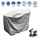 "Heavy Duty 300D Mobility Scooter Storage Cover - Keep Your Electric Powered Wheelchair Clean and Dry at Home or on The Road 48""L x 22""D x 38""H"