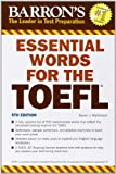 img - for Essential Words for the TOEFL (Barron's Essential Words for the TOEFL) book / textbook / text book