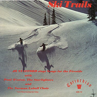 Jo Stafford: Ski Trails (Corinthian Records Reissue) [VINYL LP] - In Malls Vermont