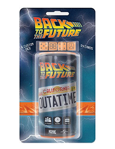 Back to The Future Outatime Dice Game by IDW Games