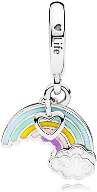 charm pandora arcobaleno originale