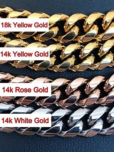 Buy mens bracelets gold 18k iced out