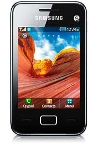 "Samsung S5220 STAR 3 - Smartphone libre Android (pantalla 3"", cámara 3.2 MP, 37 MB), negro [importado]"