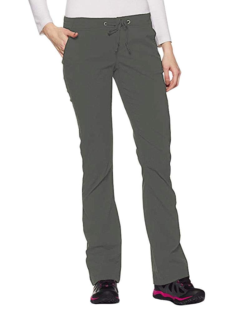 Women's Anytime Outdoor Boot Cut Pant, Water and Stain Repellent,Hiking,Travel,campling 2063-Grey-36 by Toomett