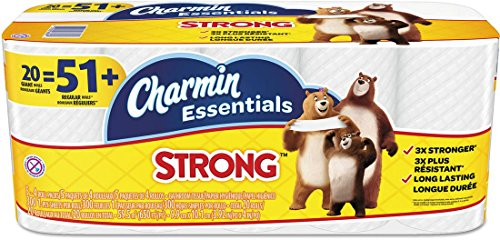 Charmin Essentials Strong 20 Giant Rolls