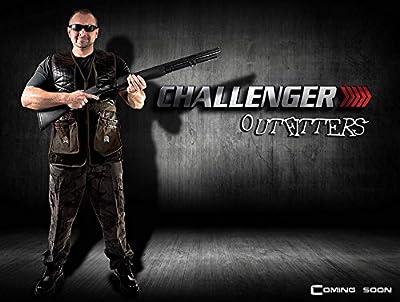 Challenger Shooting Vest Sporting Clays Pigeon Trap Skeet - Sizes M Thru 2XL