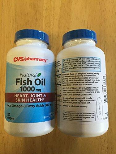 lot-of-2-cvs-natural-fish-oil-1000mg-supplements-120-softgels-each