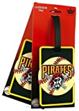 MLB Pittsburgh Pirates Two Pack Soft Laser Bag Tag