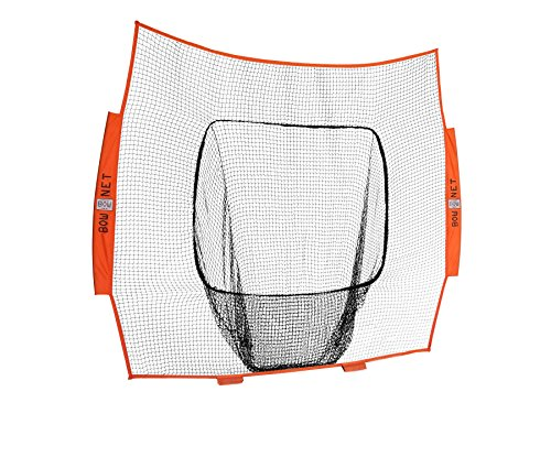 Bownet 7' x 7' Big Mouth  Wiffle  Sock Training Net (Net Only)