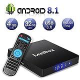 Best Kodi Tv Boxes - Android 8.1 TV Box, Leelbox Q4 4GB RAM Review