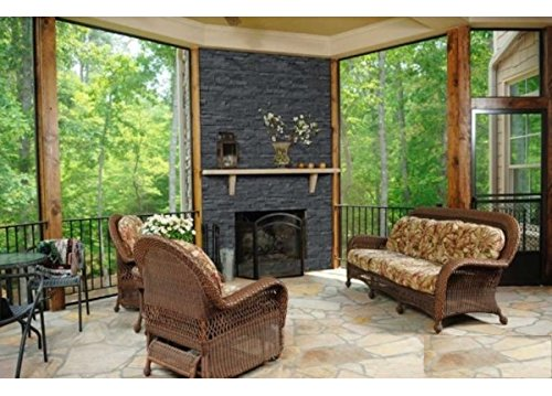 Coal Canyon Ledger Wall Panel 6 in. x 24 in. Natural Stone Tile - half pallet (60 pcs / 60 sqf)