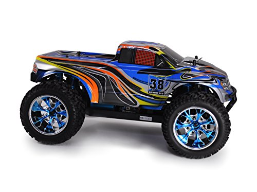 Amewi 22098 - Monstertruck Crazist Pro Brushless, 2.4GHz, M1:10