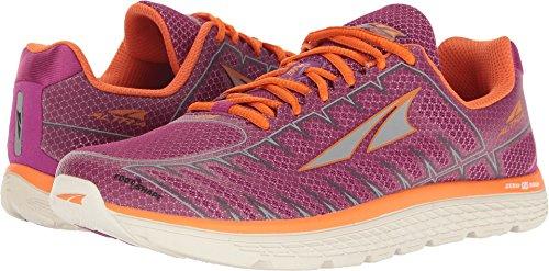 Altra Women's One V3 Running Shoe, Purple/Orange, 10 B US
