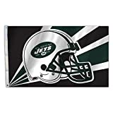 NFL New York Jets 3 by 5 Foot Flag