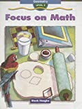 Focus on Math Level E, Steck-Vaughn Staff, 1419002813