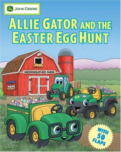 Allie Gator and the Easter Egg Hunt (John Deere Series) by Running Press Kids (Image #2)
