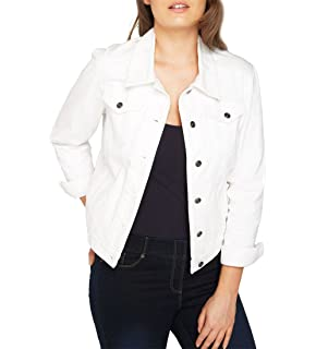 Vero Moda Vmhot SOYA LS Denim Jacket Mix Noos, Blouson Femme  Amazon ... e594f41be30c